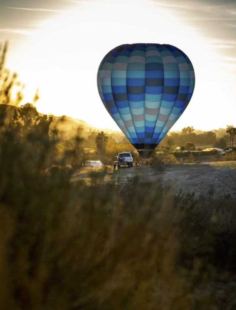 Temecula are hot air balloons safe